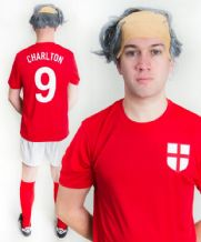 Bobby Charlton 1966 England Funny Football Fancy Dress Costume